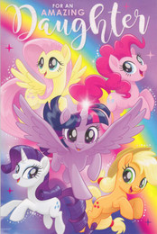 My Little Pony - Daughter's Birthday Card