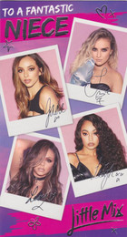 Little Mix - Niece's Birthday Card
