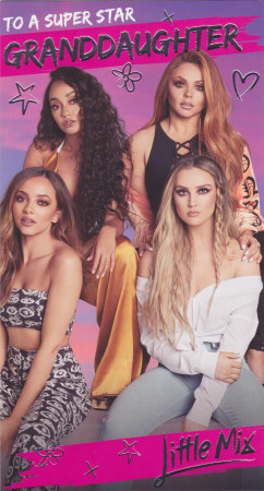 Little Mix - Granddaughter's Birthday Card