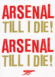 Arsenal Football Club - Greeting Card