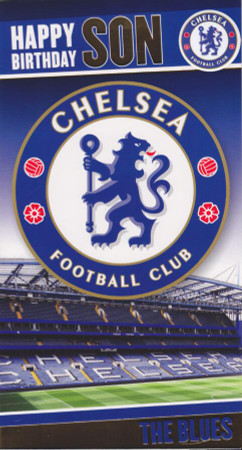 Chelsea F.C. - Son Birthday Card