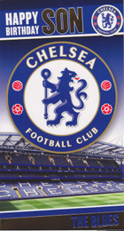Chelsea F.C. - Son Birthday Card