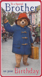 Paddington - Brother Birthday Card