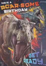 Jurassic World - Audio Birthday Card