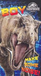 Jurassic World - Birthday Card