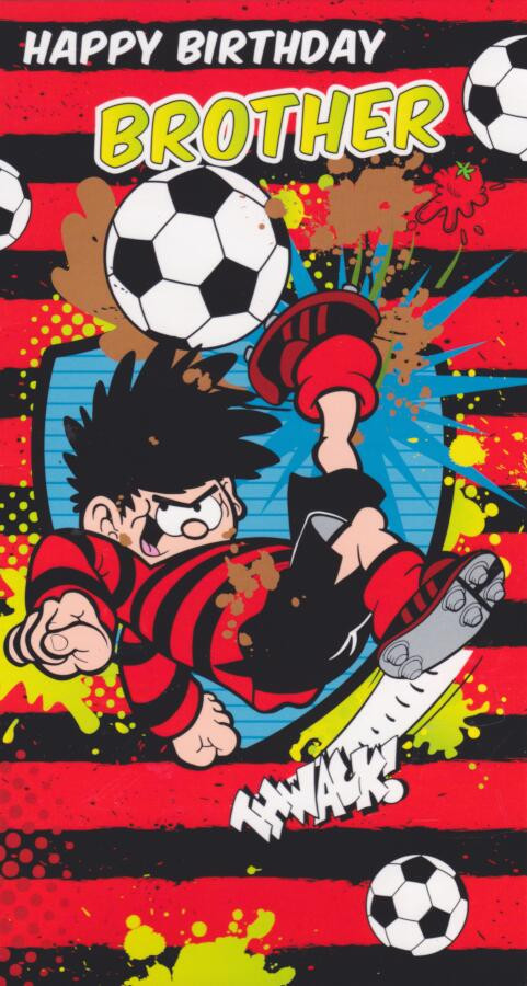 Dennis And Gnasher Brother Birthday Card Cardspark