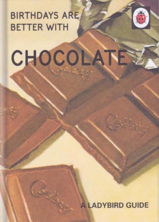 Ladybird Books For Grown-Ups - Chocolate Birthday Card