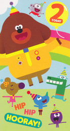 Hey Duggee - 2nd Birthday Card