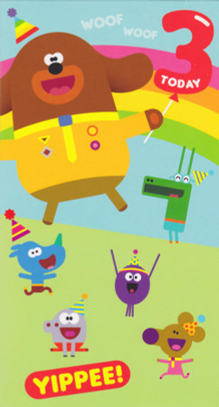Hey Duggee - 3rd Birthday Card