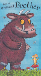 Gruffalo - Brother's Birthday Card
