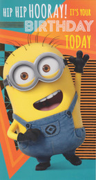 Despicable Me 3 - It's your Birthday Minions Card