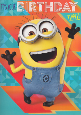 Despicable Me - It's Your Birthday Card SC203