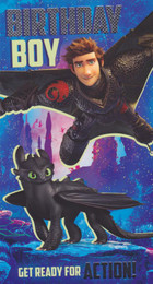 Train Your Dragon - Birthday Boy's Card