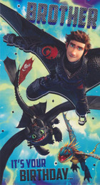 Train Your Dragon - Brother's Birthday Card