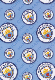 Manchester City Wrapping Paper