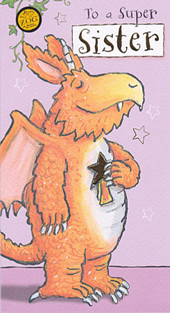 Zog - Sister's Birthday Card