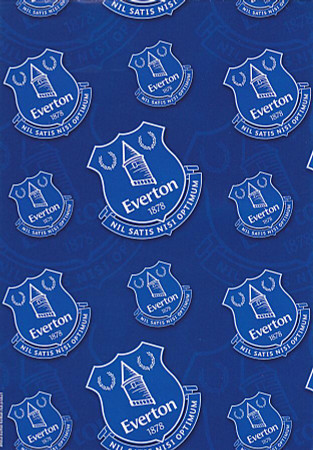 Everton Wrapping Paper
