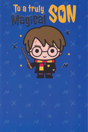 Harry Potter - Son's Birthday Card