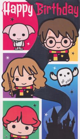 Harry Potter Birthday Card
