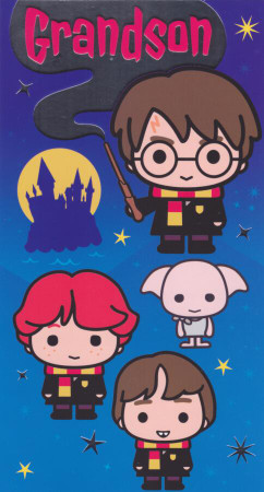 Harry Potter - Grandson's Birthday Card