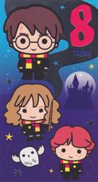 Harry Potter - 8th Birthday Card