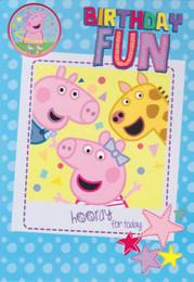 Peppa Pig - Birthday Fun Card