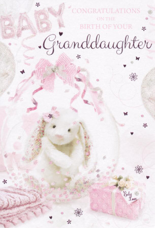 Congratulations On The Birth Of Your Granddaughter Card