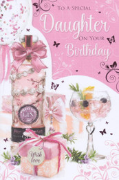 Daughter's Birthday Card - Cherry Orchard