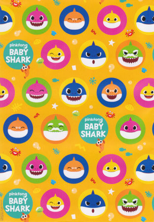 Baby Shark - Wrapping Paper