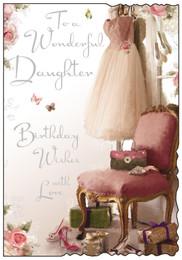 Daughter's Birthday Card - Jonny Javelin
