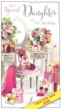 Daughter Birthday Card - Velvet Moments