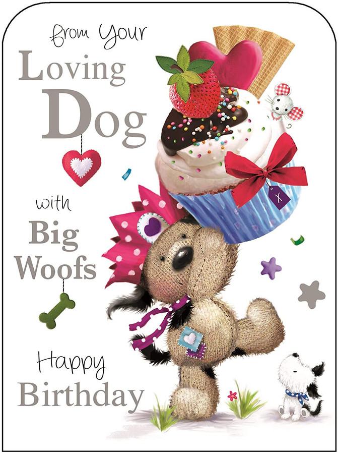 from your dog birthday card  jonny javelin  cardspark
