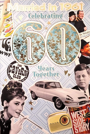 60th Pearl Anniversary - Married In 1961