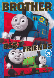 Thomas The Tank Engine - Brother Birthday Card