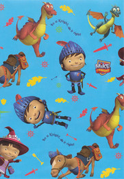Mike The Knight Gift Wrapping Paper