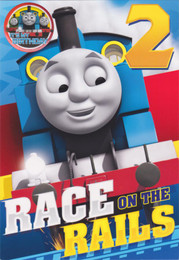 Thomas And Friends - Age 2 Birthday Card