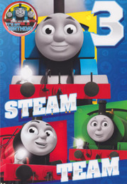 Thomas And Friends - Age 3 Birthday Card