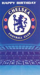 Chelsea Football Club Happy Birthday Card