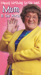 Mrs Browns Boys Mum Birthday Card