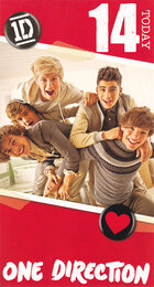 One Direction Age 14 Birthday Card