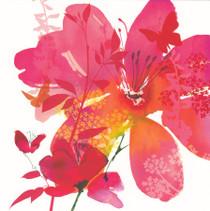 Summer Thornton Ruby Red Bloom Card