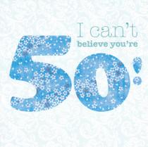 Daniel Reaney Age 50 Birthday Card