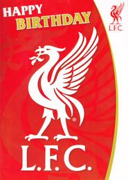 Liverpool Football Club birthday Card [Sound Card]