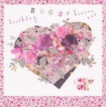 Stephanie Rose Rose Love heart Birthday Card