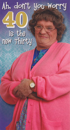 Mrs Browns Boys - 40th Birthday Card