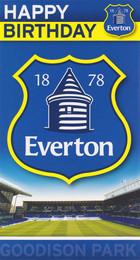 Everton Football Club - Crest Birthday Card