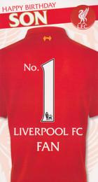 Liverpool F.C. - Son's Birthday Card