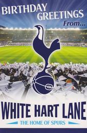 Tottenham Hotspur - White Heart Lane Birthday Card