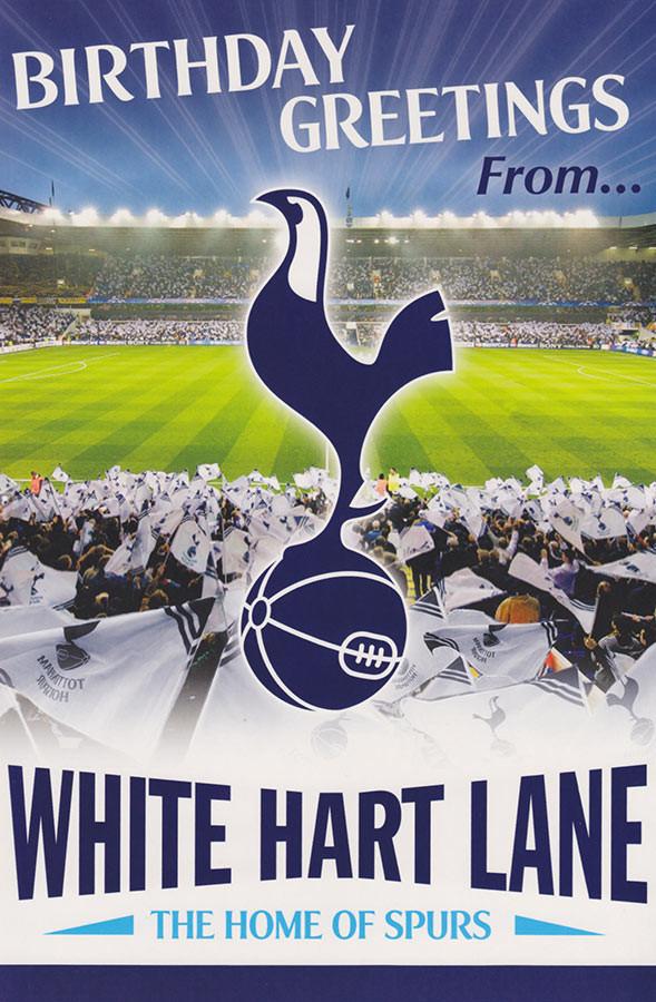 Pop Up Birthday Card Tottenham Hotspur F.C