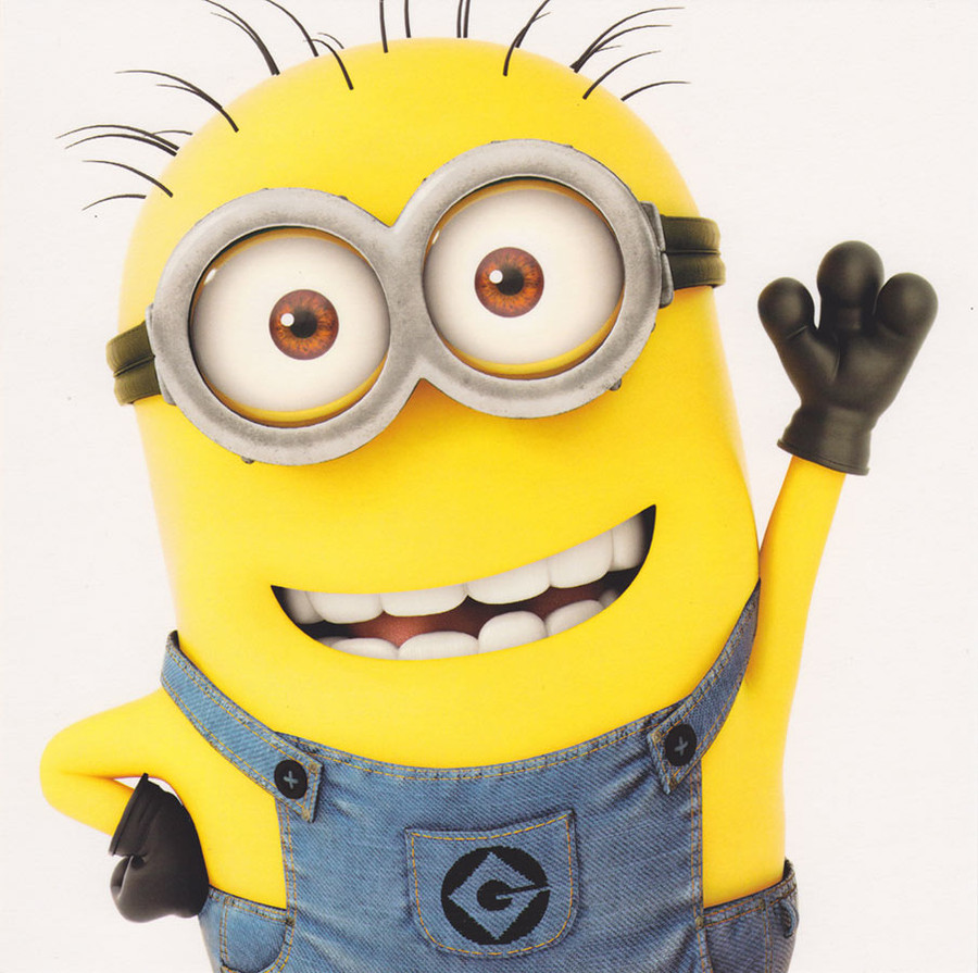 Despicable Me 2 Minion Greeting Card Cardspark